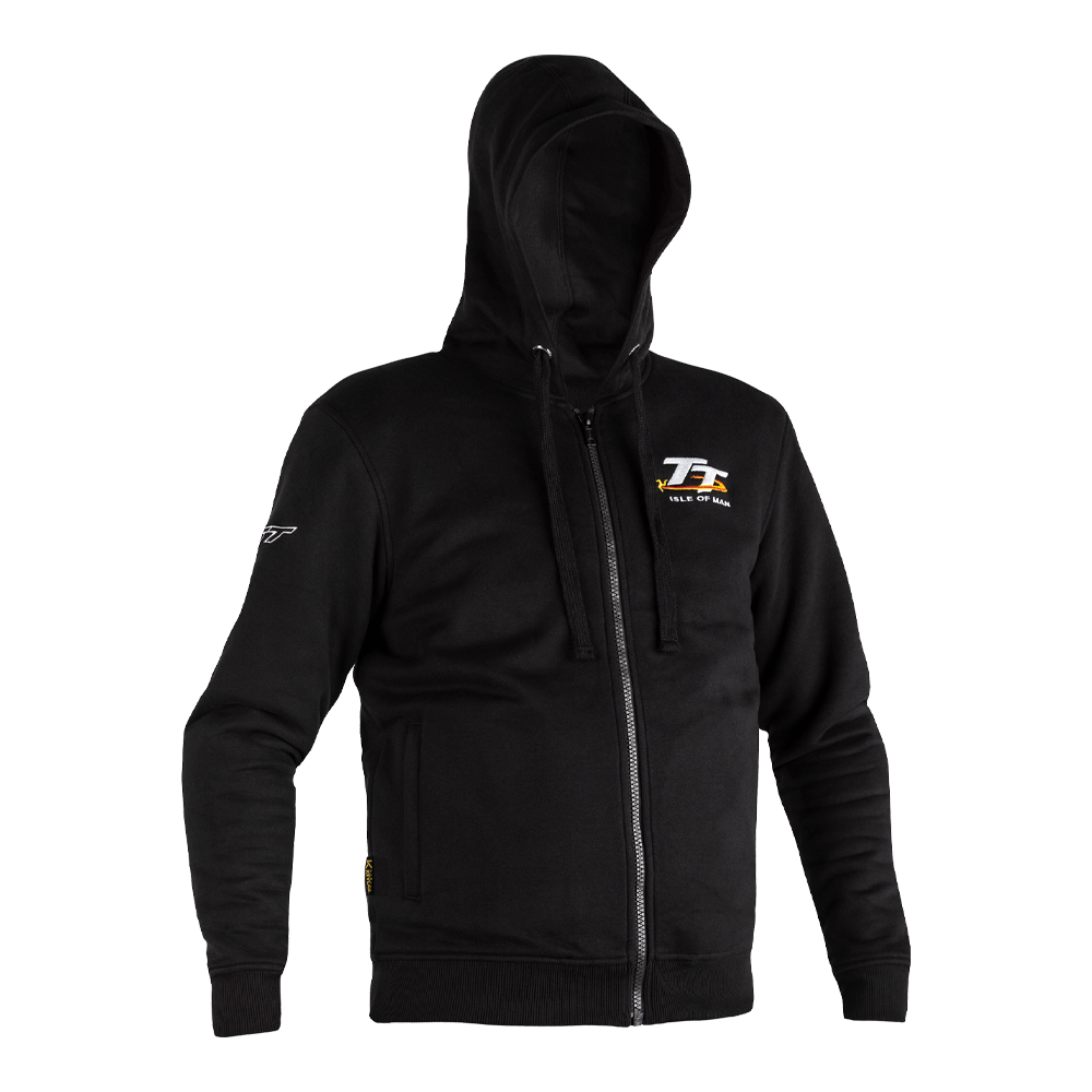 RST x Kevlar® IOM TT Zip Through Textile Hoodie