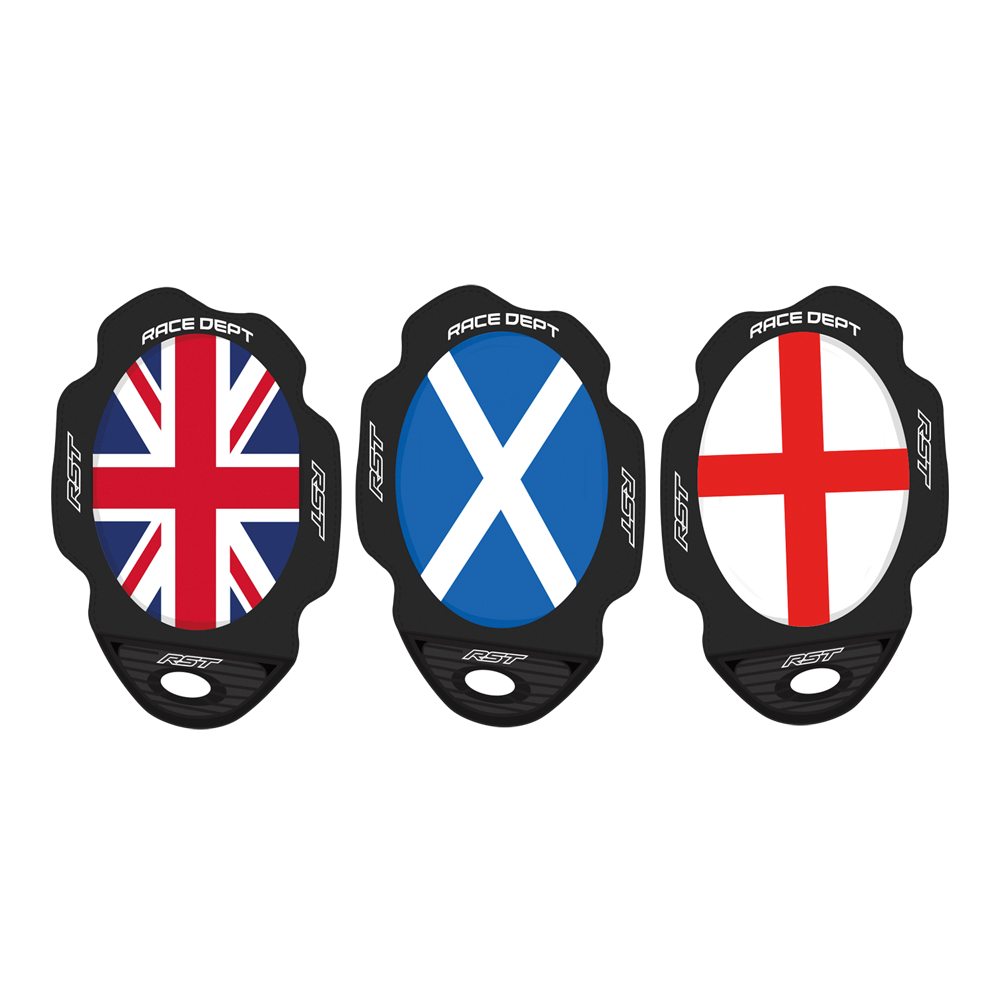 Factory Reverse Velcro Flag Series Knee Sliders