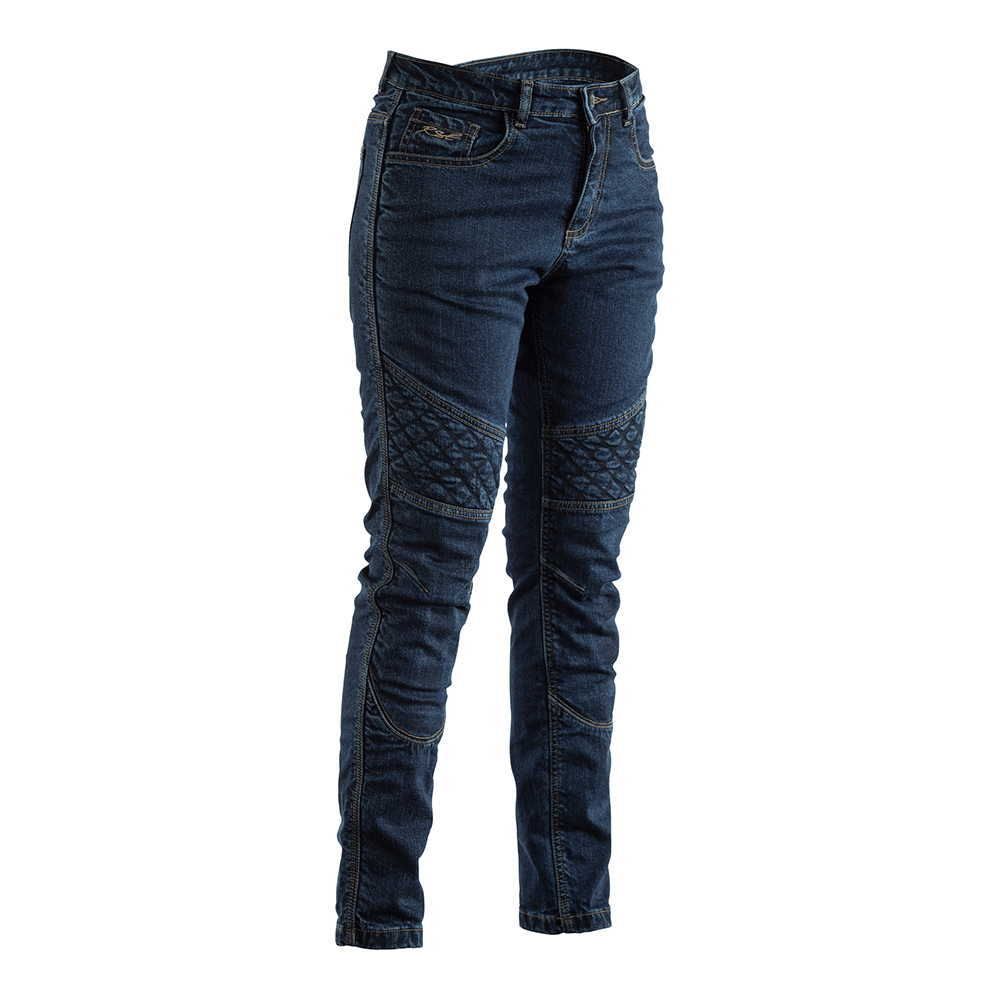 RST Reinforced Straight Leg Ladies Textile Jean