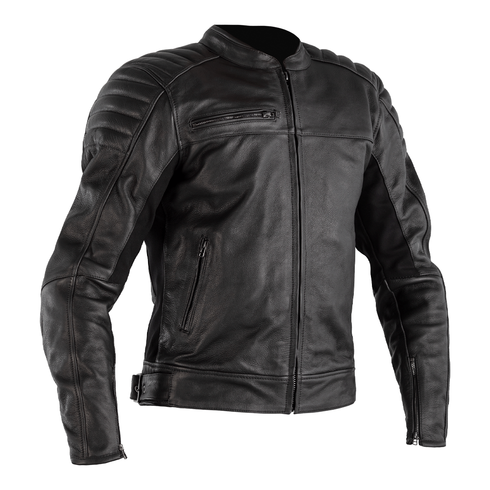 Fusion Airbag Leather Jacket