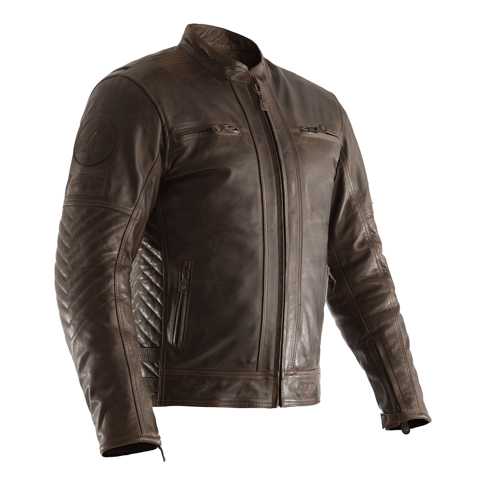 RST Classic IOM TT Retro II Leather Jacket