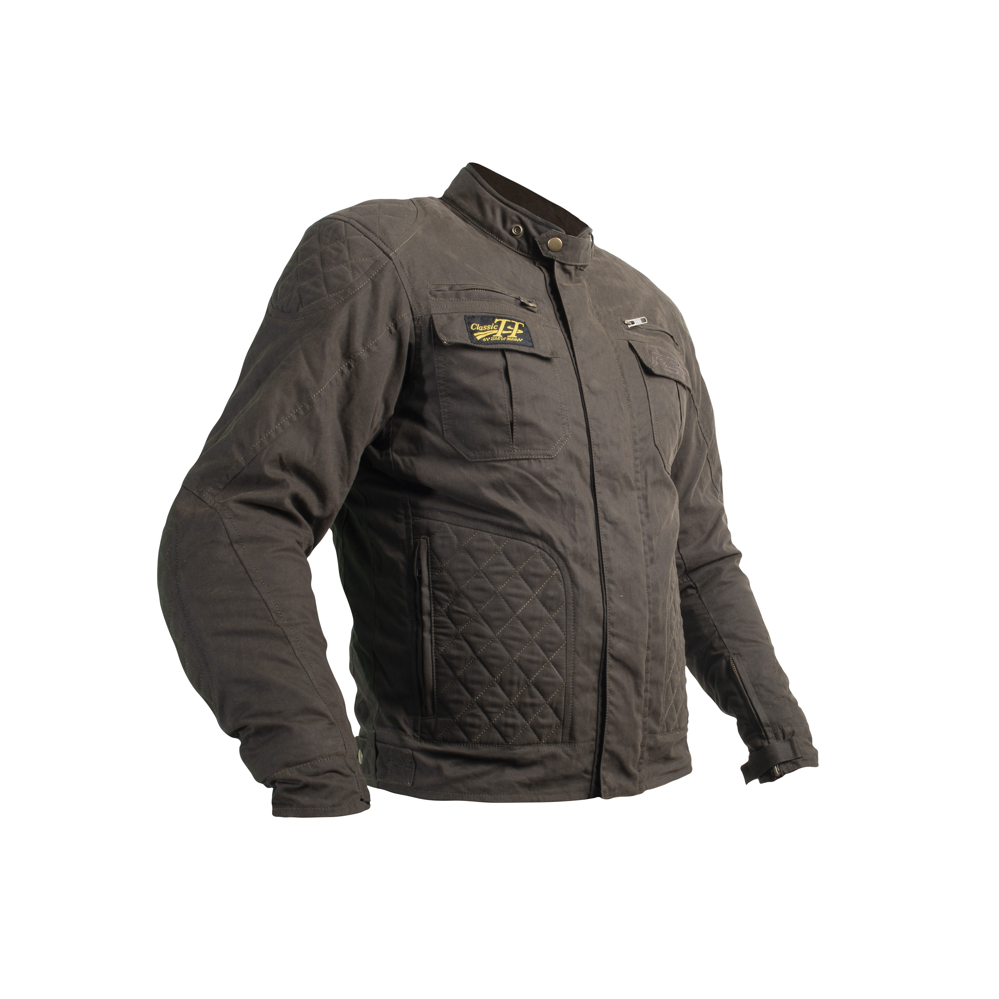 RST IOM TT CE mens short wax jacket