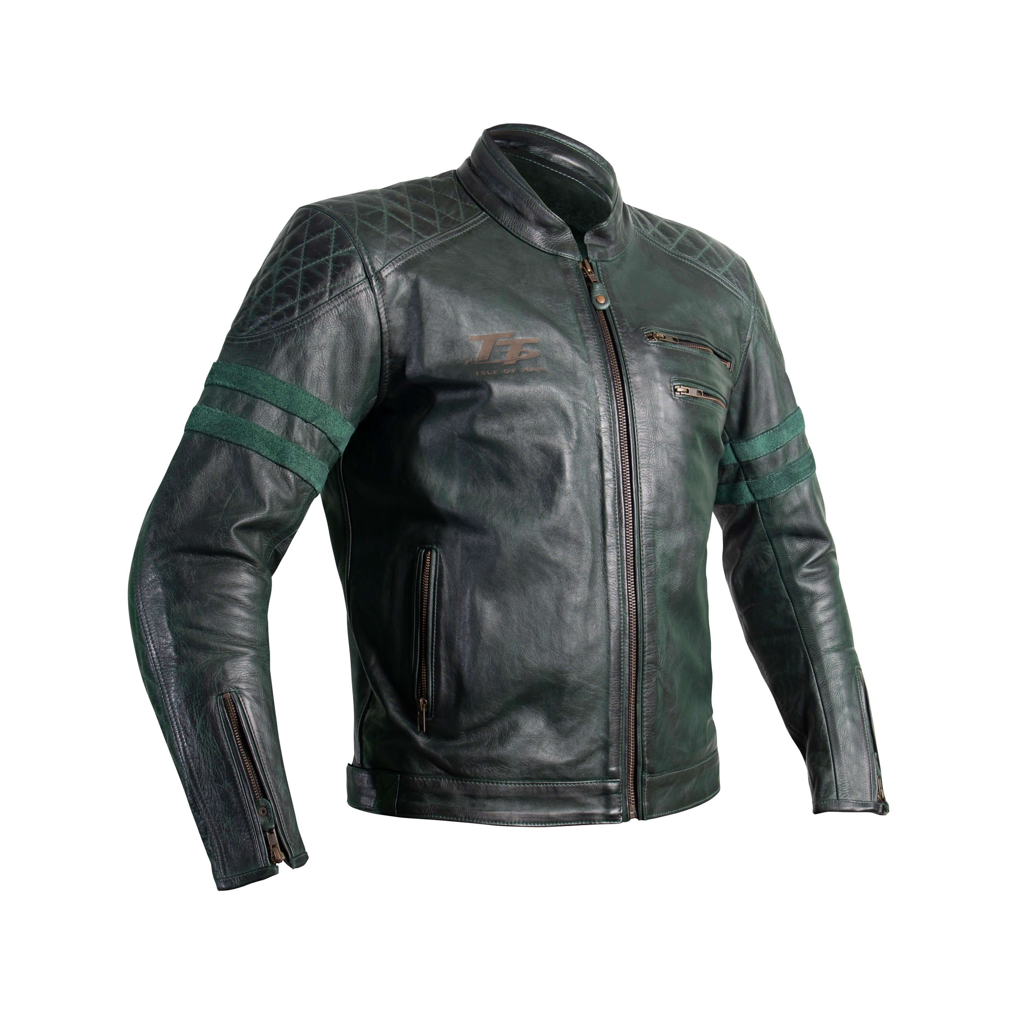 RST IOM TT Hillberry CE leather jacket