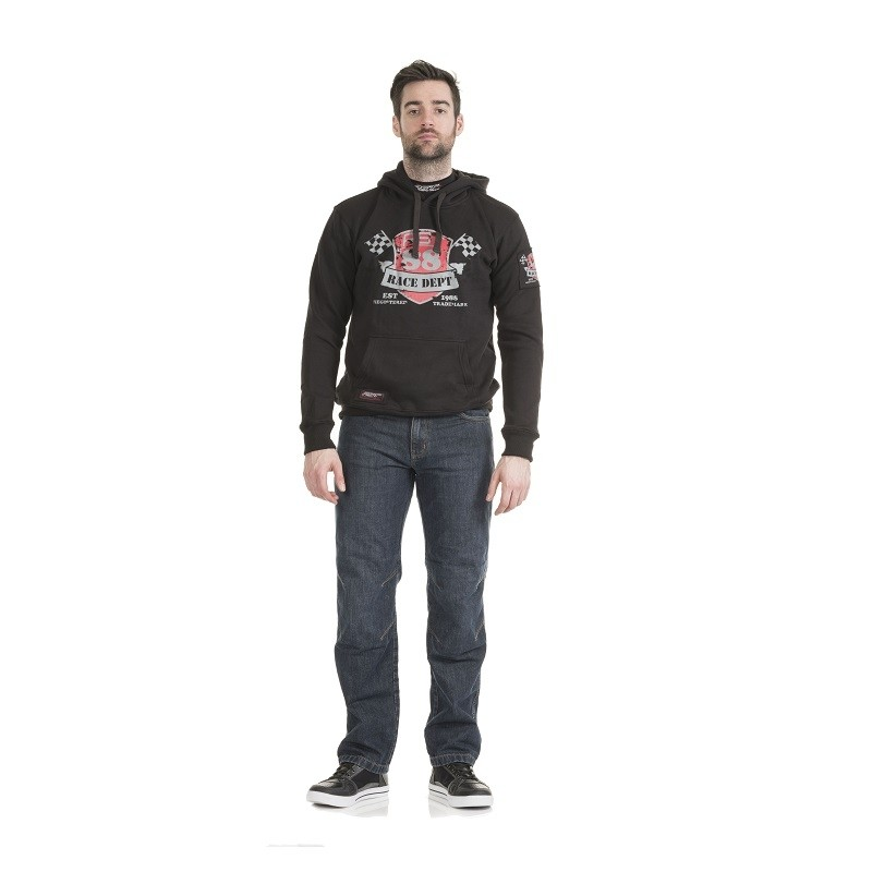 RST Race Department 88 Hoodie Black
