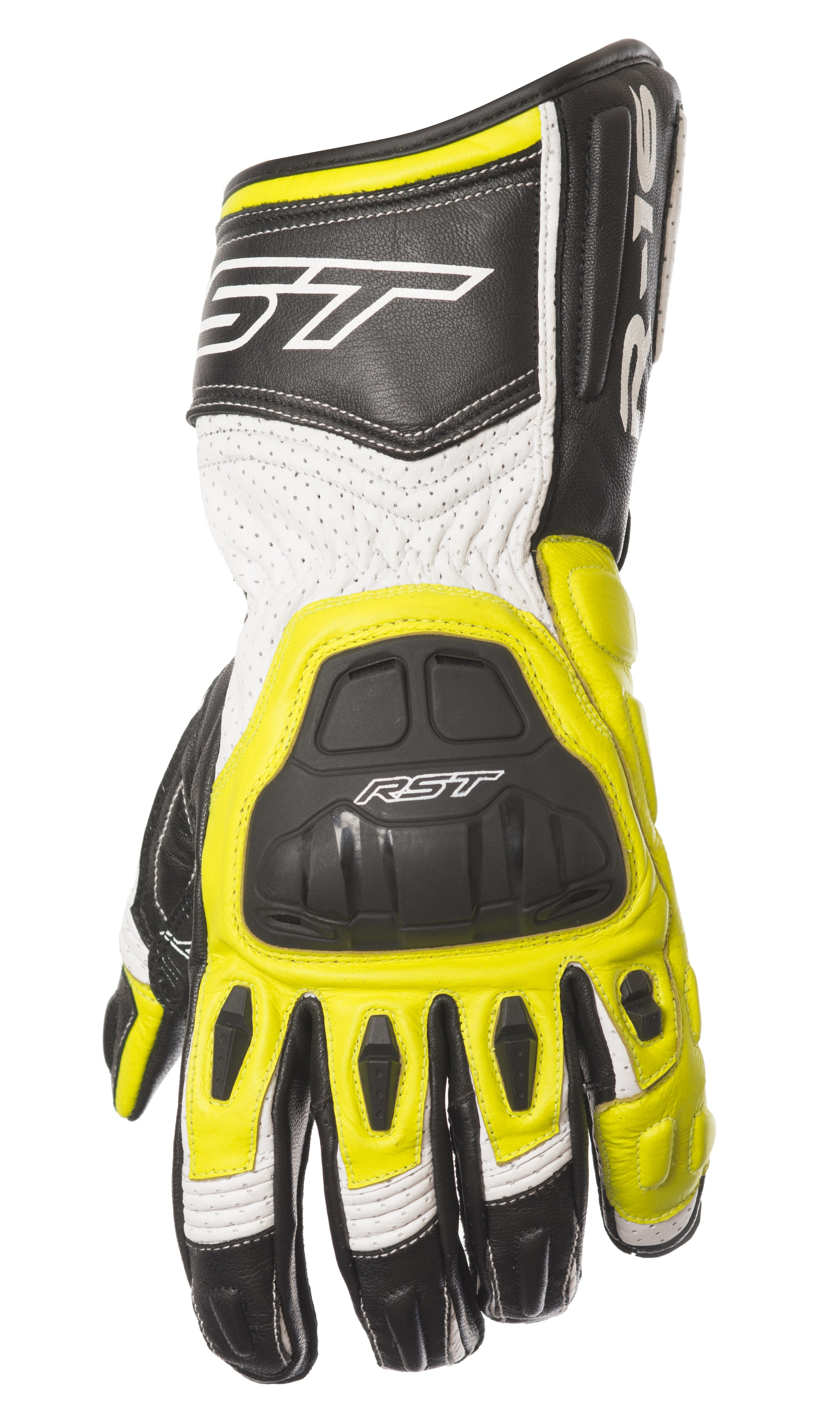 Motorcycle gloves distributor -  Rst Yellow Motorcycle Glove