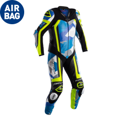 Pro Series Airbag Leather One Piece Suit