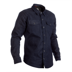 Reinforced Denim Textile Shirt