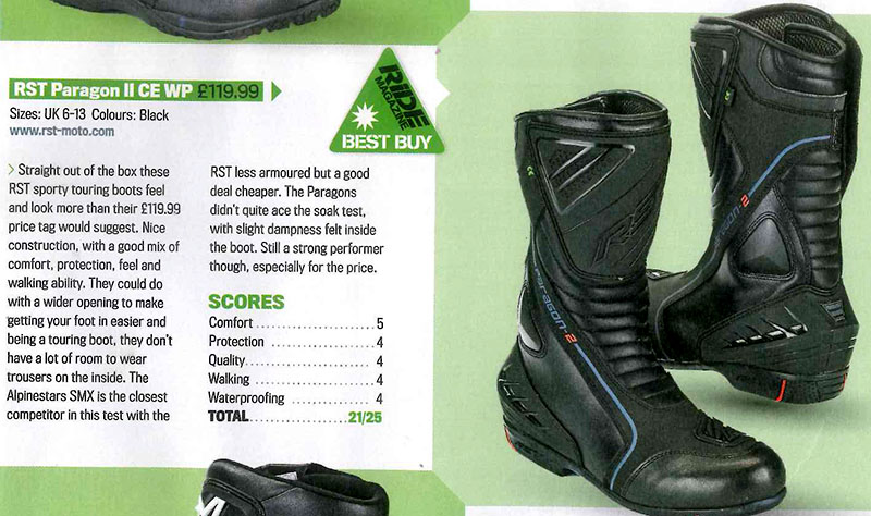 RST Paragon Boots