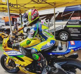 Solid start for Avalon Biddle in the 2018 New Zealand Supersport championship.