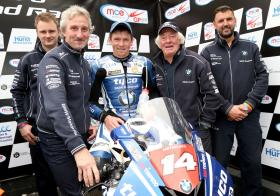 Dan Kneen takes podium and victory at Tandragee 100