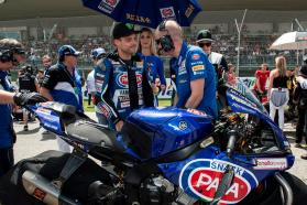 Determined performance by Lowes in race one at Imola