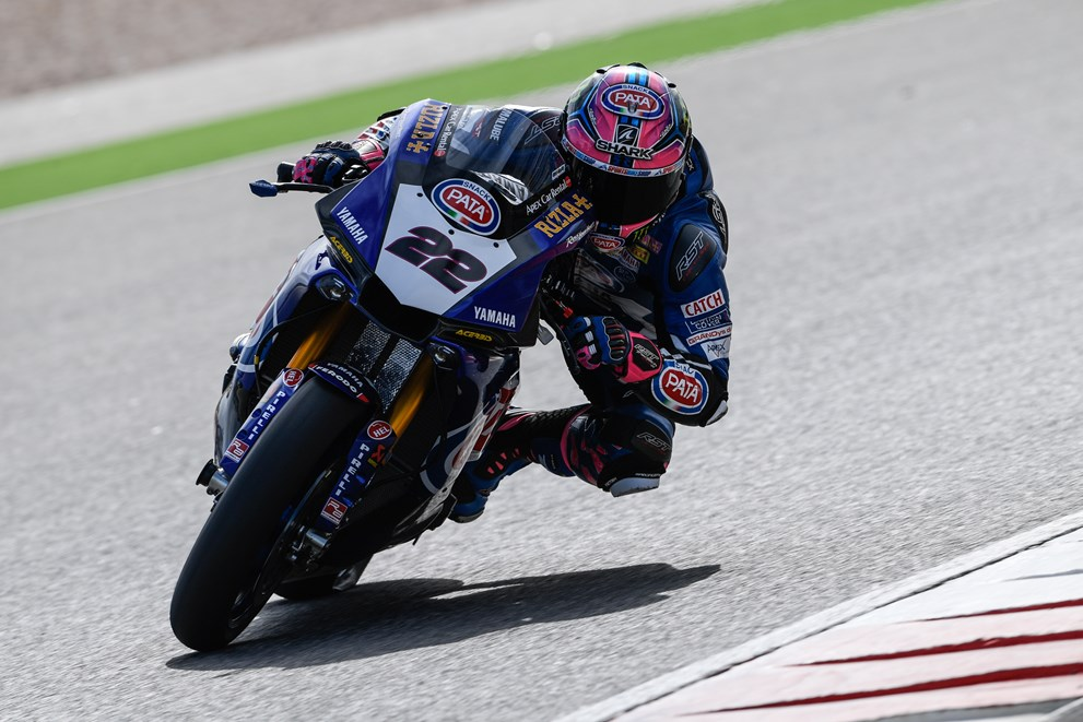 Pata Yamaha Make Excellent Progress in Portimao